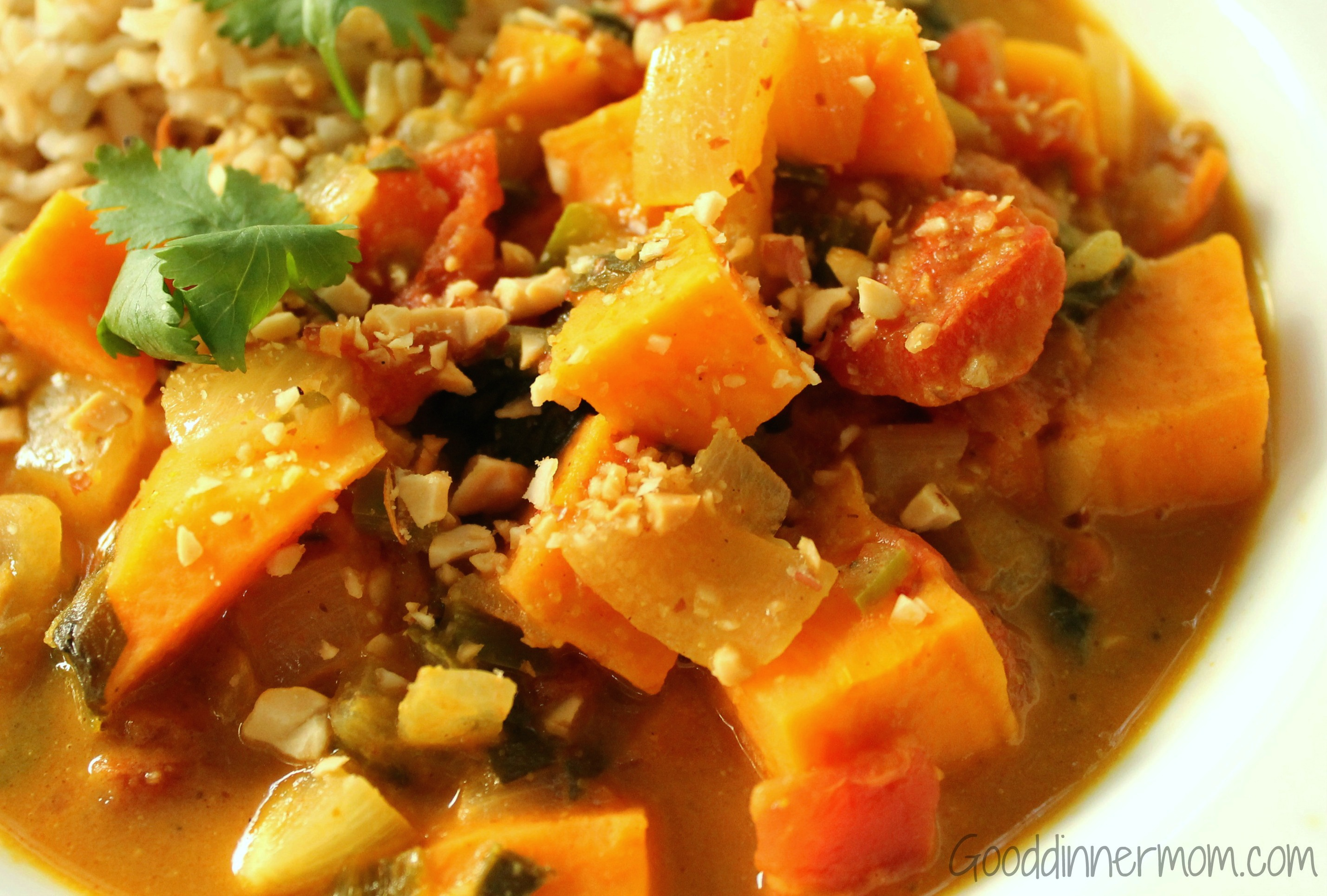 Good Dinner Mom | African Peanut Stew - Good Dinner Mom