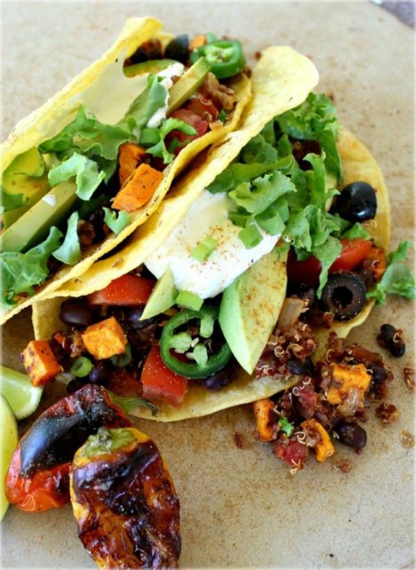 Good Dinner Mom | Black Bean and Quinoa Tacos - Good Dinner Mom