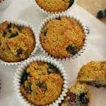 Blueberry Muffins with Coconut and Chia Seeds – Gluten Free