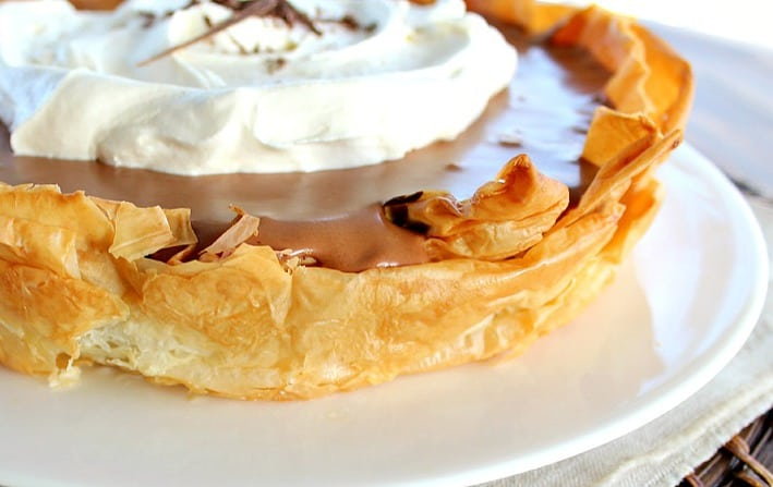 Good Dinner Mom | Chocolate Mousse Pie with Phyllo Crust - Good Dinner ...