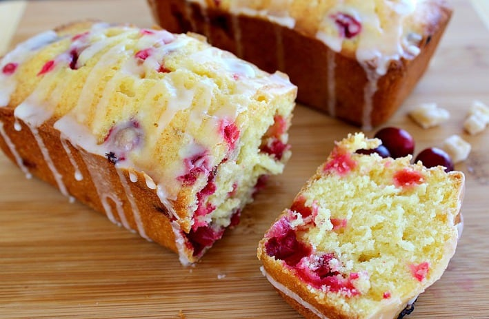 Really Good Cranberry Bread. Fresh cranberries, lemon zest and ...