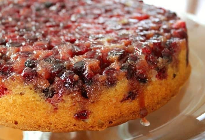 ... Bakery , Cake , Fruit Desserts , Holidays Cranberry Upside Down Cake