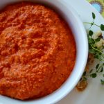 Roasted Red Pepper Dip with Walnuts and Thyme