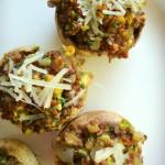 Stuffed Mushrooms with Quinoa
